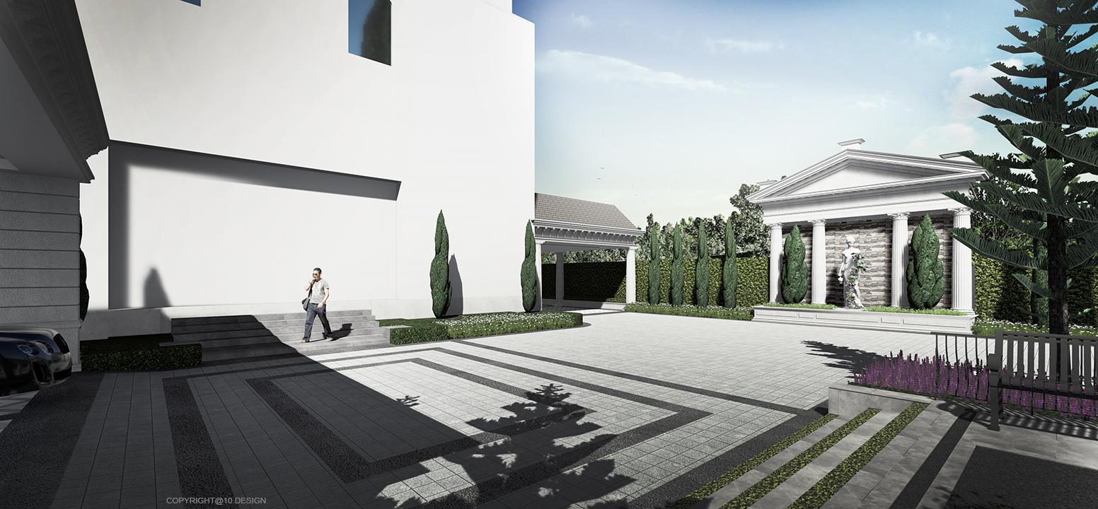 10 design landscape architect design luxury house t&s residence 02