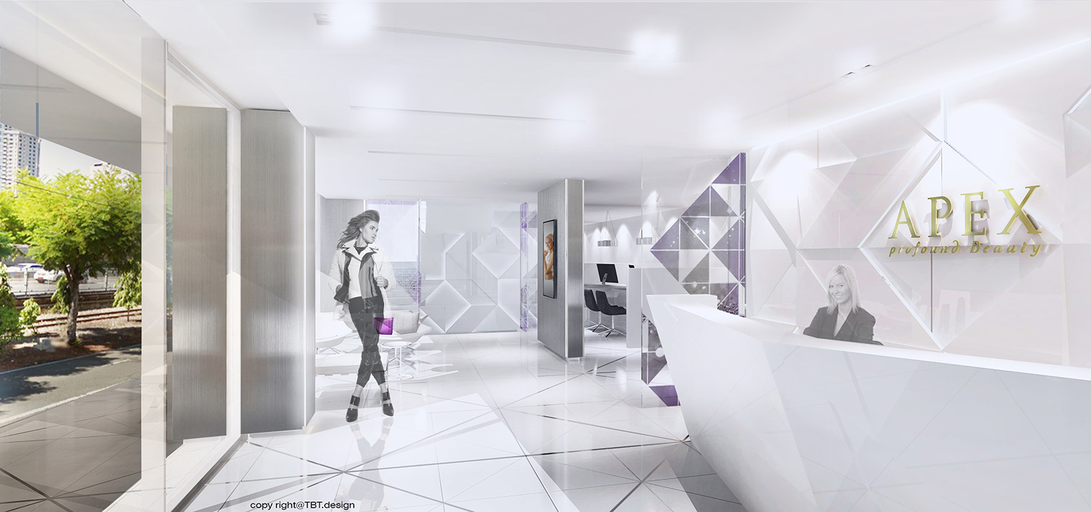 10Design apex medical center interior design 02