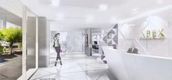 10Design apex medical center interior design 02