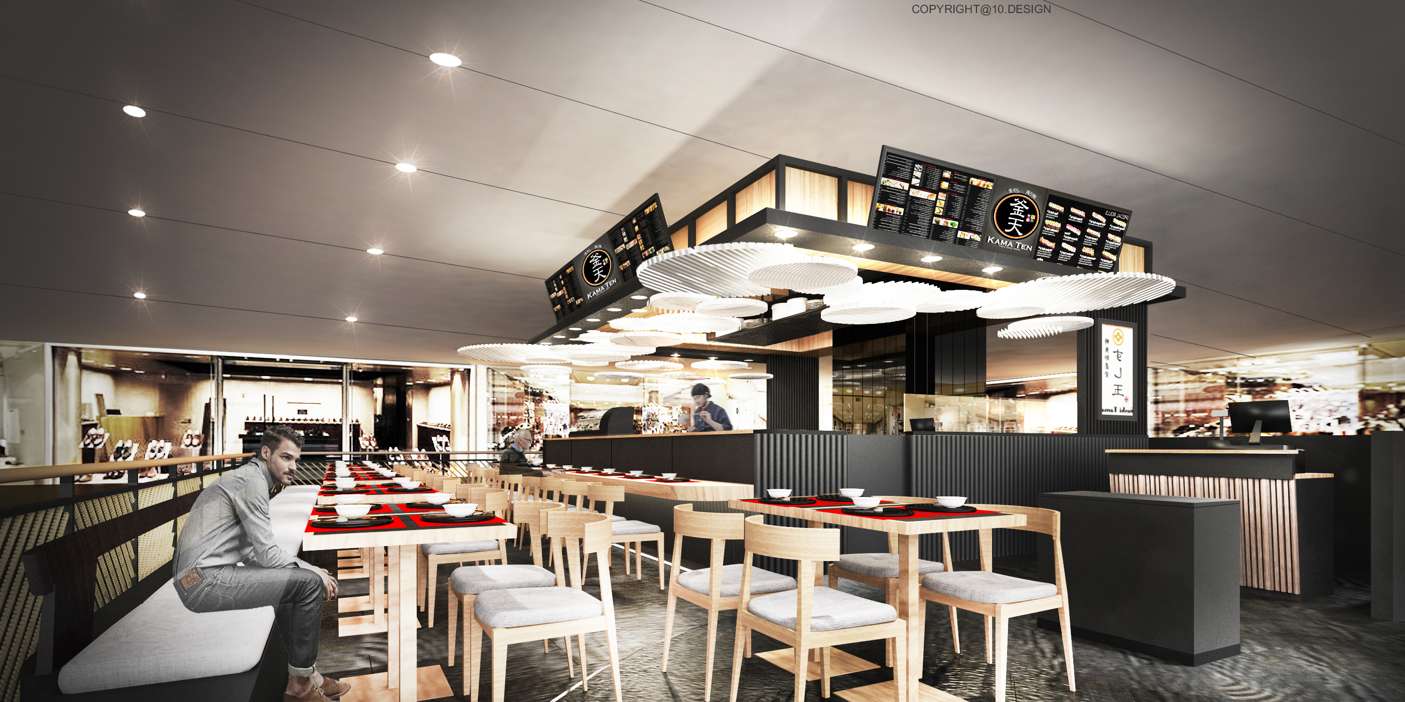 10 design kama ten japanese restaurant interior design 06