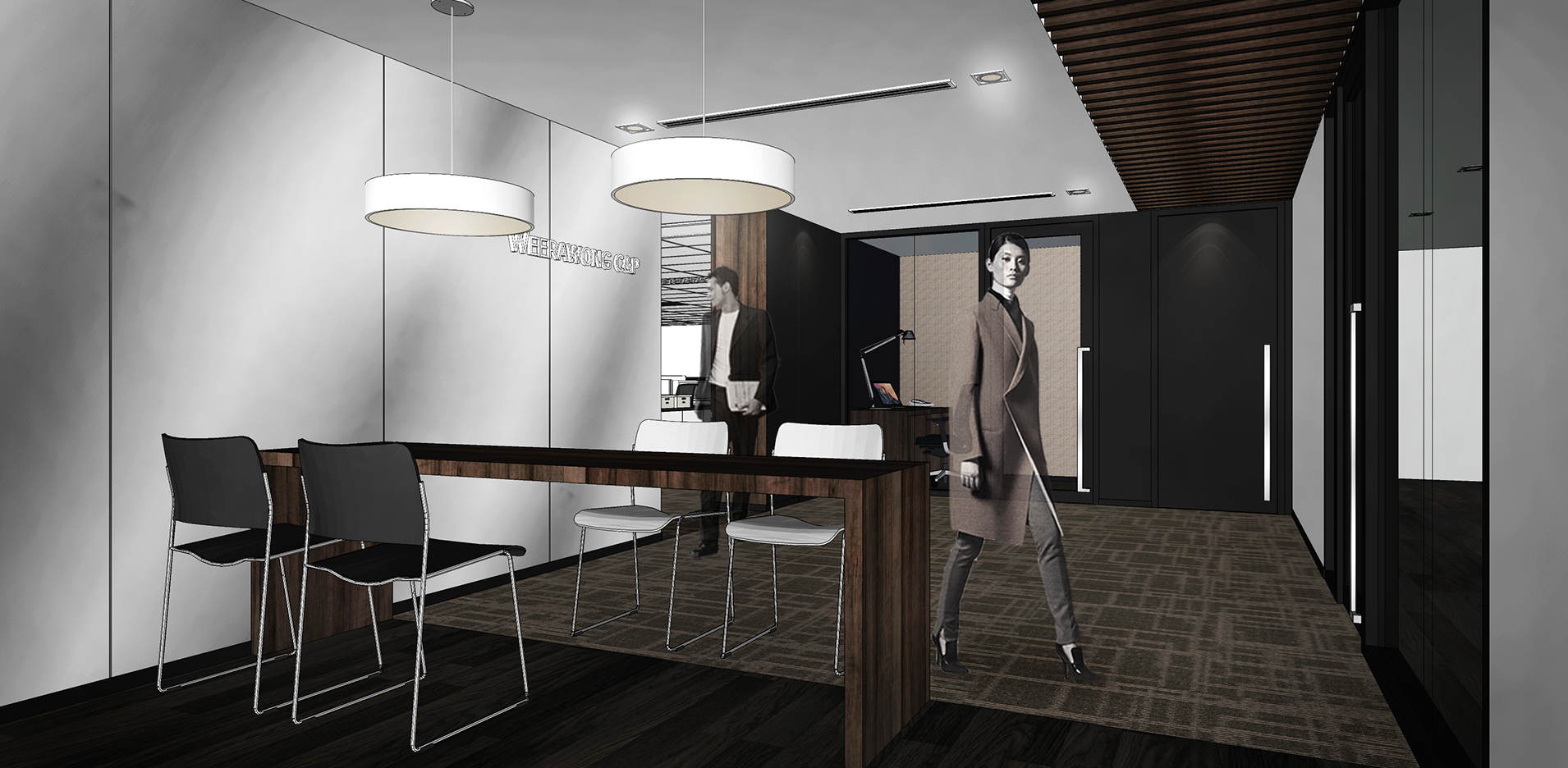 10design corporate office Weerawong C&P law firm interior design 05