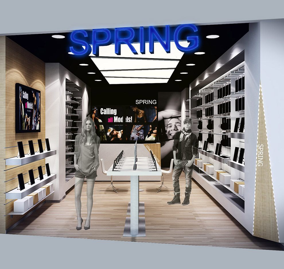 10DESIGN spring shop mobile retail commercial interior design 02