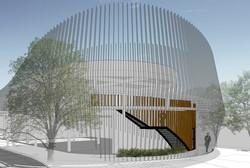 10DESIGN PTT GAS STATION LANDSCAPE ARCHITECTURE FACADE CURVE DESIGN PROJECT 08
