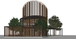10DESIGN PTT GAS STATION LANDSCAPE ARCHITECTURE FACADE CURVE DESIGN PROJECT 04