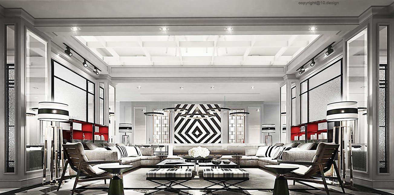 10 design interior design luxury house t&s residence 11