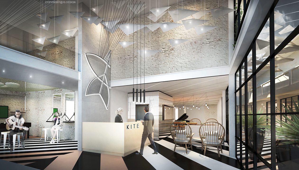 10design kite hostel bangkok hotel hospitality room 03