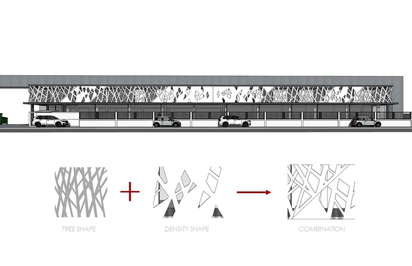 10design perspective rendering green lat