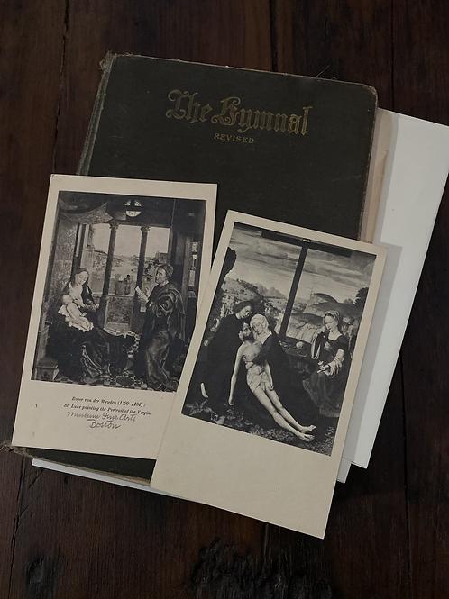 Vintage postcard set, Mary