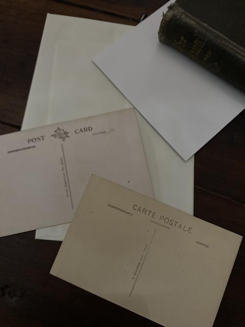 Vintage postcard set, cathedral