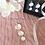 Thumbnail: Collier 3 Fleurs de Lune Argent