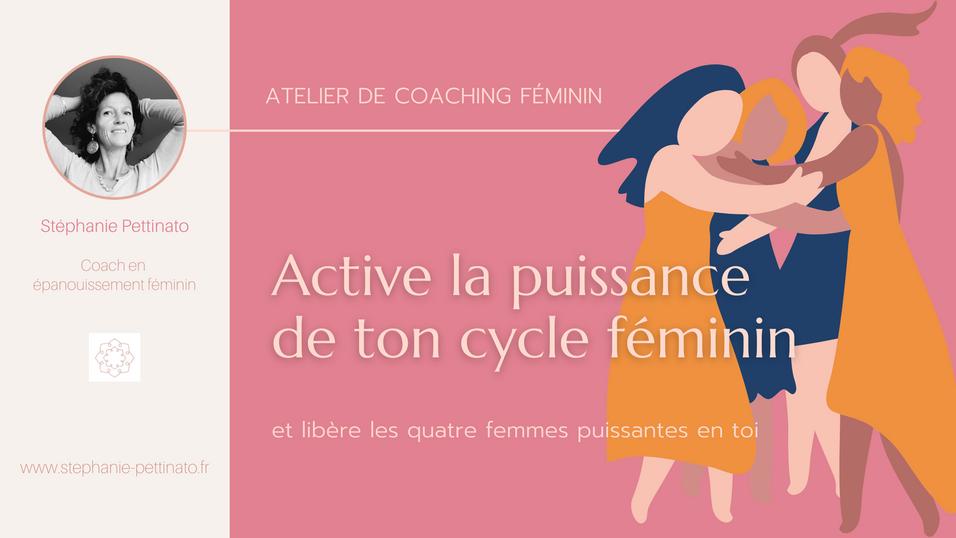 Active la puissance de ton cycle féminin
