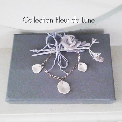 Bracelet 3 Fleurs de Lune