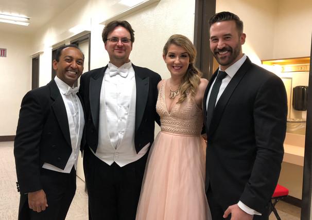 Sameer Patel, Alyssa Martin, Steven LaBrie