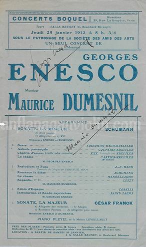 Enescu program autograph.png