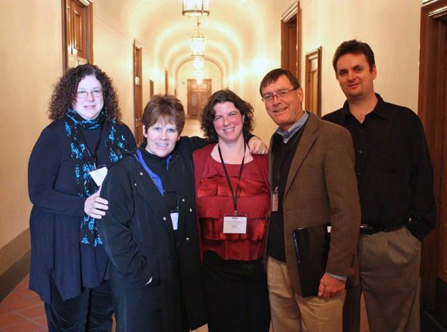 Kay Stern, Dawn Harm, Robin Sharp, Roy Malan