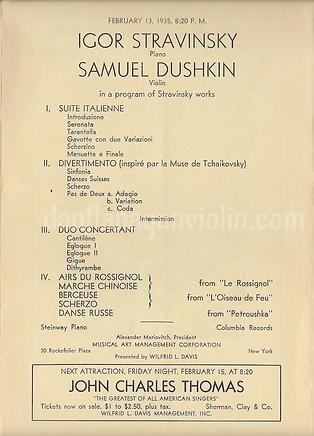 Stravinsky Dushkin program.png