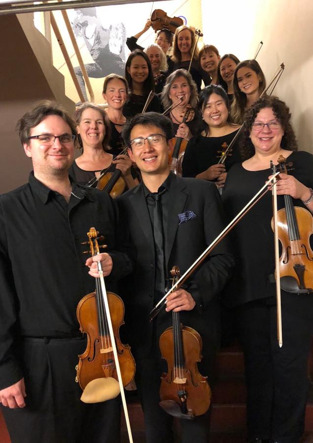 SF Opera 1st violins