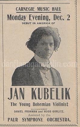 Kubelik debut ad.png