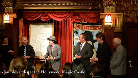 Magic Castle, Magician, Jay Alexander