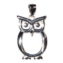 Sterling Owl (pendant only)