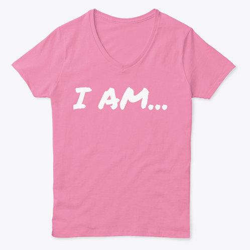 """""""I AM"""" V-Neck"""