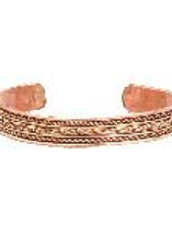 Copper Braided Bracelet
