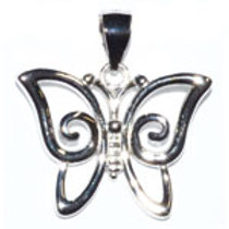 Sterling Butterfly (pendant only)