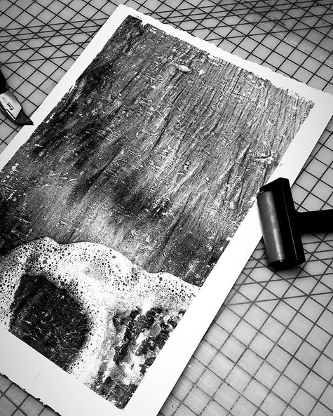 Exploring some new print making possibil