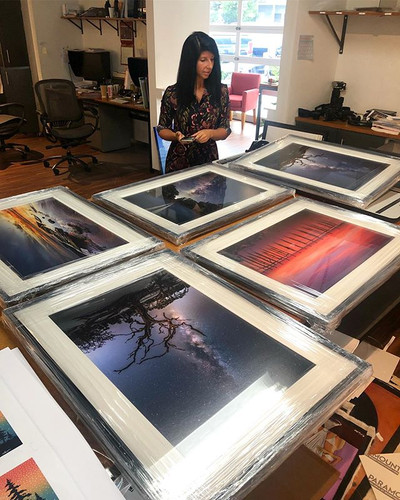Great time printing and framing gallery