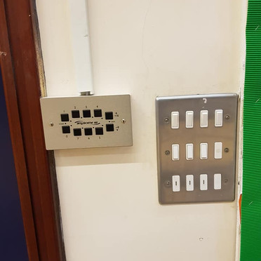 Wall mounted Lighting controller