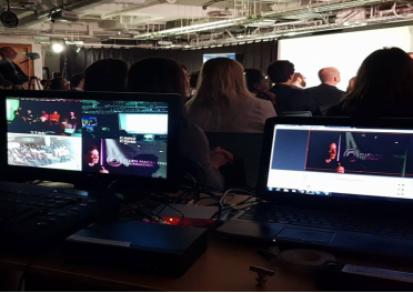 multicamera video mixing, with internet live streaming