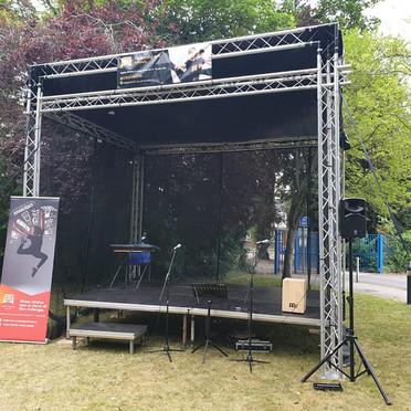 small outdoor festival