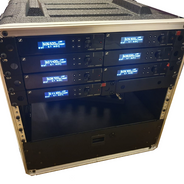 Rack mounted radio mics