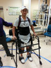 MICHAEL STRAIGHT WALKING AGAIN THANKS TO 'EXOSKELETON' DEVICE