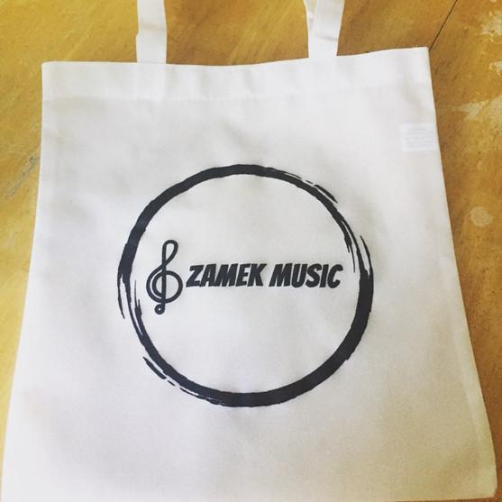 Zamek Music Tote Bag