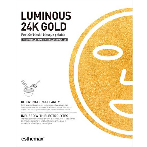 Luminous 24k Gold Hydrojelly™ Mask