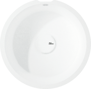 Lavello Dupont Corian Rounded 9310