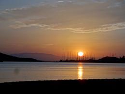 Solnedgang på La Manga