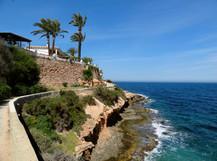Kyststi ved Cabo Roig