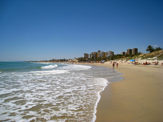 Stranden ved Cabo Roig