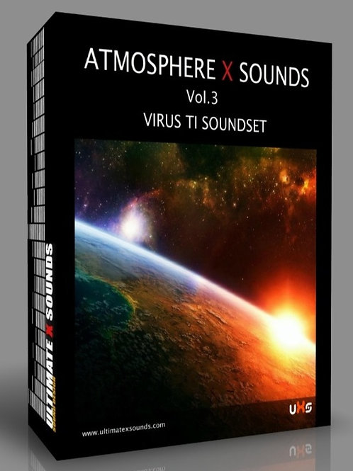 Atmosphere X Sounds Vol.3 Virus TI Soundset