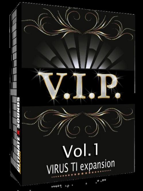 V.I.P. Vol.1 Virus TI Expansion - 200 PATCHES + 15 KICK SAMPLES