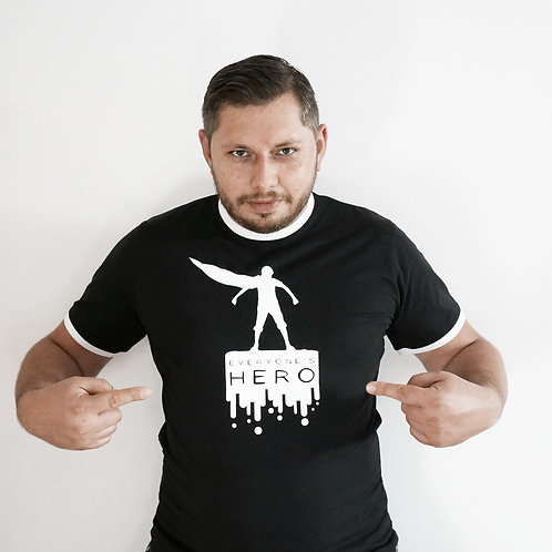 T-shirt Everyone's Hero - SW - BLACK/CZARNY