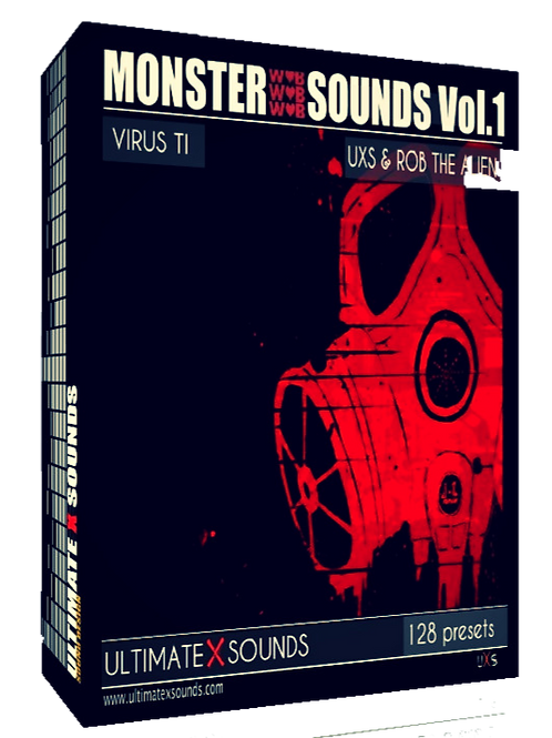 Monster Sounds Vol.1 Virus TI2 / TI Soundset ( OS5 )