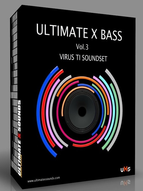 Ultimate X BASS Vol.3 Virus TI2 / TI ​Soundset ( OS5 support only )