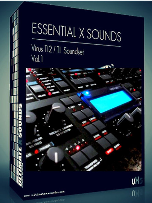 Essential X Sounds Vol.1  Virus TI​2 / TI ​Soundset