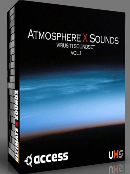 Atmosphere X Sounds Vol.1 Virus TI  Soundset