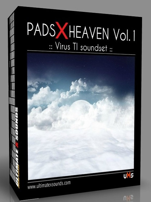 PADS X HEAVEN Vol.1 Virus TI2 / TI Soundset ( 196 patches )