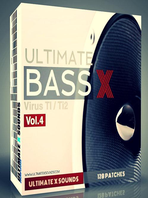 Ultimate X BASS Vol.4 Virus TI2 / TI Soundset ( OS5 )