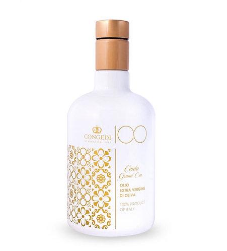 "Extra Virgin Olive Oil ""100 Grand Cru"" 500ml  - 100% Italian"